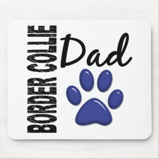 Border Collie Dad 2 Mouse Pad