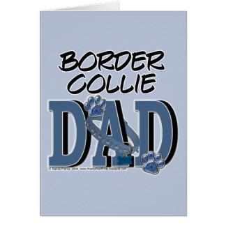 Border Collie DAD Card
