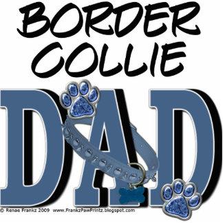 Border Collie DAD Photo Sculpture