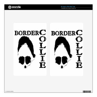 Border Collie Deep Thoughts Kindle Fire Skins