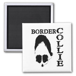 Border Collie Deep Thoughts Magnet