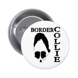 Border Collie Deep Thoughts Pinback Button