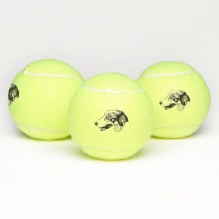 Border Collie Tennis Balls Tennis Gear Zazzle