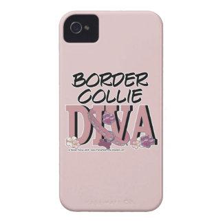 Border Collie DIVA iPhone 4 Cover
