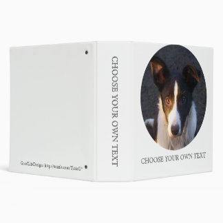 Border Collie - Dixie 3 Ring Binder