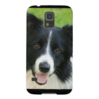 Border Collie Dog Add Text Pet Galaxy S5 Cover