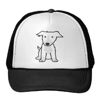 Border Collie Dog Cartoon Mesh Hats