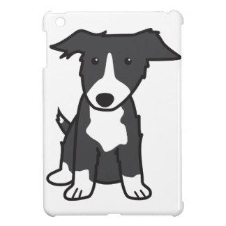 Border Collie Dog Cartoon iPad Mini Cover