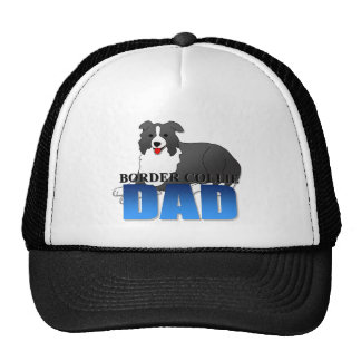 Border Collie Dog Dad Trucker Hat