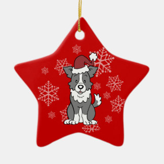 Border Collie Dog Ornament