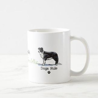 Border collie - dogs rule coffee mug