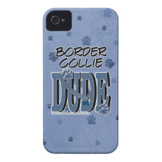 Border Collie DUDE iPhone 4 Cover
