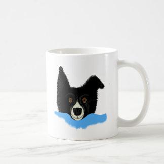 Border Collie Face Coffee Mug