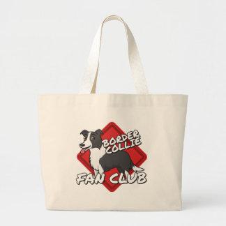 Border Collie Fan Club Jumbo Tote Bag