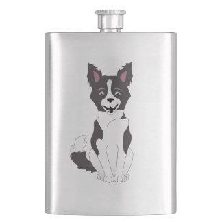 Border Collie Flask