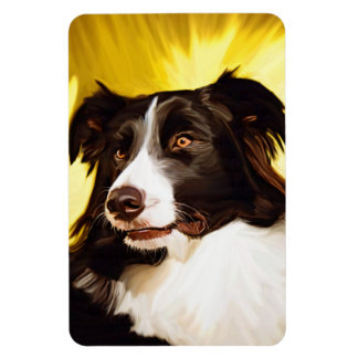 Border Collie Flexible Magnet