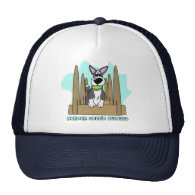Border Collie Flyball Hat