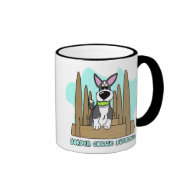 Border Collie Flyball Mug