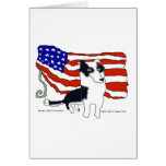 Border Collie for President Greeting Cards