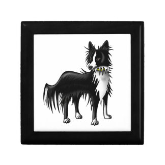Border Collie Jewelry Boxes