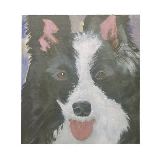 Border Collie gifts Notepad