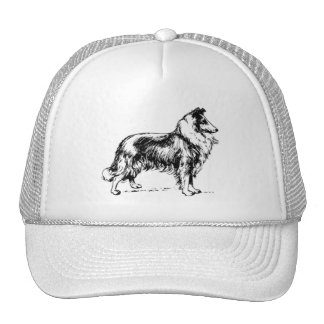Border Collie Mesh Hats