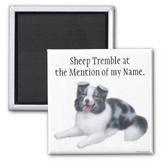 Border Collie Herding Dog Magnet
