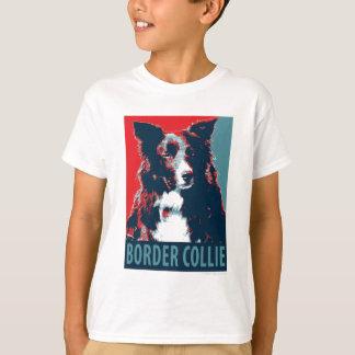 Border Collie Hope Parody Poster T-Shirt