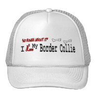Border Collie (I Love) Hat