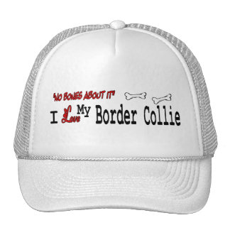 Border Collie I Love Hat