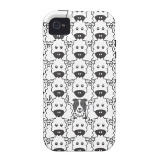 Border Collie in the Sheep iPhone 4/4S Covers