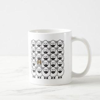 Border Collie in the Sheep Coffee Mug