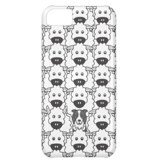 Border Collie in the Sheep Cover For iPhone 5C