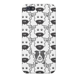 Border Collie in the Sheep iPhone SE/5/5s Cover