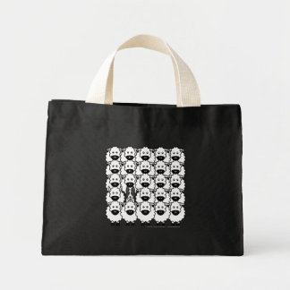 Border Collie in the Sheep Mini Tote Bag