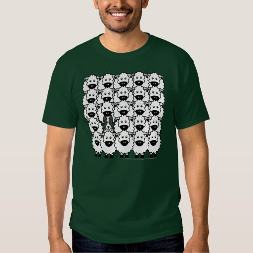 Border Collie in the Sheep Shirt