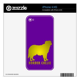 Border Collie iPhone 4S Skin