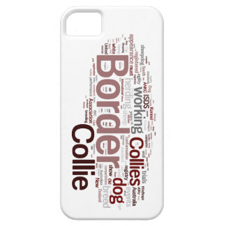Border Collie iphone 5 Barely There Case