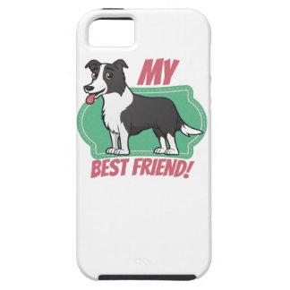 Border Collie is my best friend iPhone SE/5/5s Case