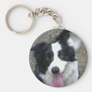 Border Collie Key Chain