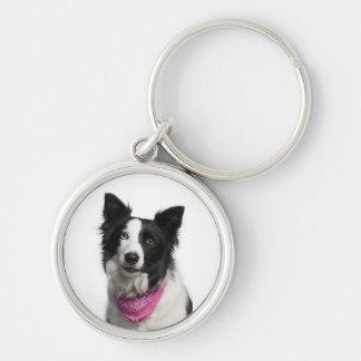 Border Collie Key ring