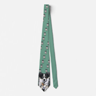 Border Collie Lamb Lover Neck Tie