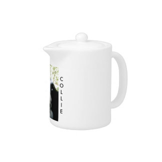 Border Collie Love Teapot