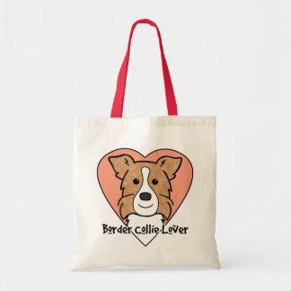 Border Collie Lover Budget Tote Bag