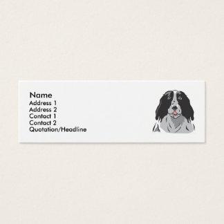 Border Collie Mini Business Card