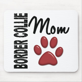 Border Collie Mom 2 Mousepad