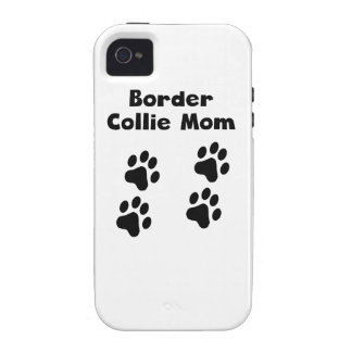 Border Collie Mom Vibe iPhone 4 Cases