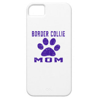 Border Collie Mom Gifts Designs iPhone 5/5S Cases