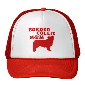 BORDER COLLIE MOM TRUCKER HAT