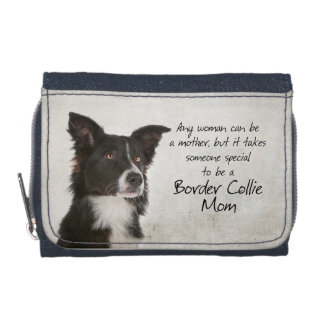 Border Collie Mom Wallet
